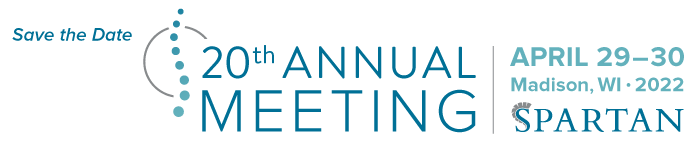 Save the date for the SPARTAN 20th Annual Meeting in 2022